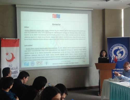 Training for public officials in Edirne and for staff in removal centers in Izmir